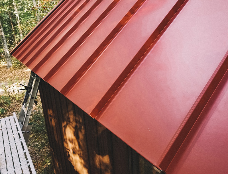 Metal-shed-roofing